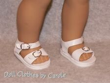 "White Salt Water Sandals fit 18"" American Girl  Dolls - Clothes - Shoes"