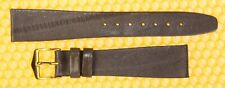 18mm HIRSCH Real-Eel Leather Watch Strap Band LILAC <NWoT>