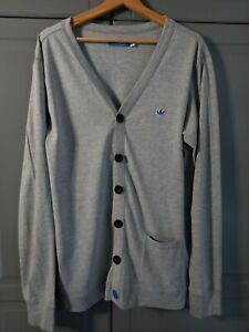 ADIDAS JERSEY BUTTON UP TOP - SIZE XL - FREE POSTAGE!