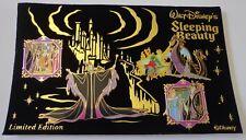 Disney M & P Sleeping Beauty 4 Pin Set Maleficent Dragon Phillip Aurora