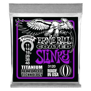 Ernie Ball Coated Titanium RPS Power Slinky 11-48 Electric Guitar Strings 3120