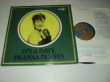 DEANNA DURBIN 33 TOURS LP UK IT'S A DATE