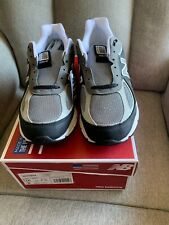 New Balance 990v4 Navy Grey Men's Size 10 Running Shoes 'Silver Mink' M990XG4