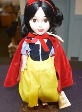 "DISNEYLAND WALT DISNEY""S CHARACTER DOLL COLLECTION 15 IN. SNOW WHITE ON STAND"