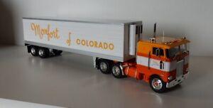 Altaya  US Truck Peterbilt 352 mit Kühl-Auflieger  ,1/43