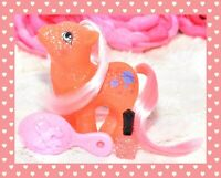 ❤️My Little Pony MLP G1 Vtg BABY SPARKLE NORTH STAR Glitter Planets Pink Hair❤️