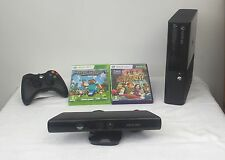 Microsoft Xbox 360 E with Kinect 4 GB Console+ Minecraft and Kinect Adventures