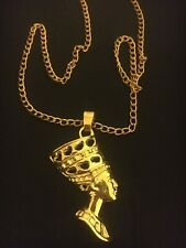 Necklace and Pendant Gold Colour Jewellery Necklace