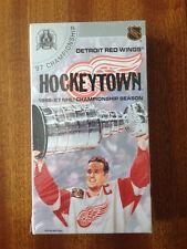 Vintage Championship Detroit Red Wings Hockeytown Vhs. Hockey 1996 1997