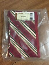 Longaberger Holiday Stripe Liner Only for the 2005 Silver Bells - Mint