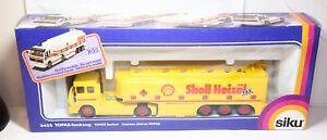 Siku 3511 Topas Tankzug Shell Fuel In Its Original Box - Mint Shop Stock Rare L2