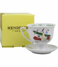 Hendricks Gin Teacup & Saucer