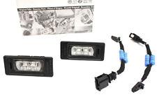 NEU Original Audi TT 8J LED Kennzeichen Leuchten Adapter Widerstand TTRS S-Line