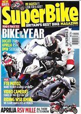 Super Bike Motorcycle Magazine Ducati Bmw Aprilia Rsv Best Video Cameras Agusta