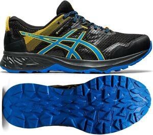 Asics Gel-Sonoma 5 Gore-Tex GTX Trail Running Shoes Black/Blue
