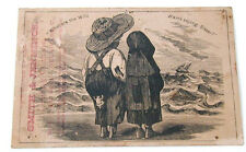 Victorian Trade Card Smith & Jennings Sign of Bear Clothiers Delaware Ohio