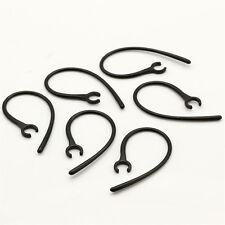 6pcs Bluetooth Headset Replacement Spare Earhook ON Ear Hook Loop Earloop Clip