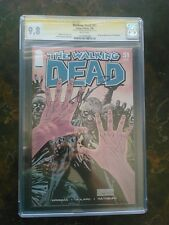 Walking Dead # 51 - CGC 9.8  WHITE  Pages SS Kirkman