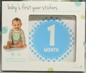 Baby's First Year Belly Photo Stickers ~ NEW ~ 1 month - 12 months