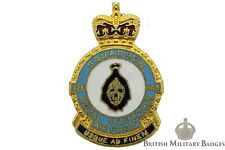 Queens Crown: Royal Canadian Air Force 428 Squadron Unit RCAF Canada Lapel Badge