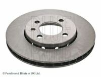 BLUE PRINT BRAKE DISCS FRONT PAIR FOR A VW UP HATCHBACK