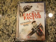 KRANKED 7 THE CACKLE FACTOR RARE OOP DVD! MOUNTAIN BIKE BIKING JAMIE GOLDMAN HTF