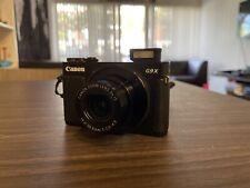 Canon PowerShot G9 X 20.1MP Digital Camera - Black