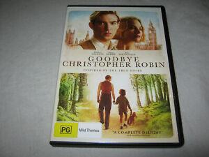 Goodbye Christopher Robin - Domhnall Gleeson - Like New - DVD - R4