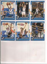 2015-16 Donruss New York Knicks Basketball Team Set (6 Different)