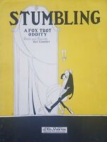 Stumbling by Zez Confrey Vintage 1922 Fox Trot Sheet Music Leo Feist 1920s