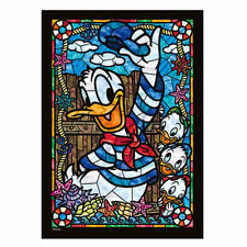 TENYO DISNEY STAINED GLASS PUZZLE PA 266P DONALD DUCK TP85954