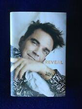 Robbie Williams Reveal signed autobiography book