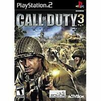 Call of Duty 3 - PlayStation 2 (PS2) Game *CLEAN VG