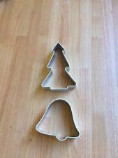 Árbol de Navidad Cortadores De Galleta Y Bell Fondant Glaseado