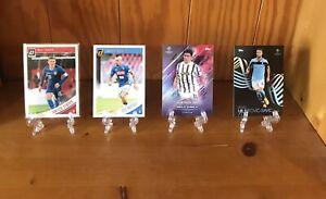 Mixed Football Card Lot/Bundle Including Signature Style Numbered Akanji Card