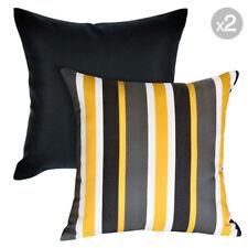 Set of 2. Kona Ash + Mindill Sunshine Outdoor Cushion Covers  - 45x45cm