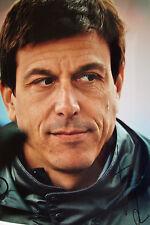 TOTO WOLFF firmata 12x8 F1 Mercedes-AMG direttore esecutivo del team Ritratto 4