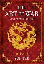 The Art of War: Illustrated Edition by Sun Tzu (English) Hardcover Book Free Shi