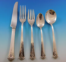 Worthington Severn by Kirk Stieff Sterling Silver Flatware Set 12 Service 64 pcs