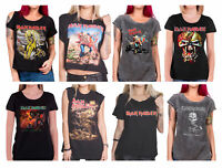 Iron Maiden T Shirt Womens Official Book of souls trooper killers new official