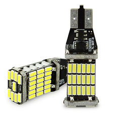 2Pcs T10 T15 W5W 4014 45SMD Canbus ERROR FREE Turn Signal Reverse Back UP Light