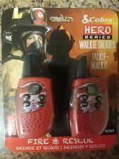 Cobra He130R Hero Series Walkie Talkies Fire & Rescue