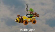 Luigi Deluxe Nintendo Mario Kart Custom Christmas Ornament Go Cart Yoshi NEW