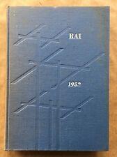 ANNUARIO RAI 1952 Relazioni e bilancio dell'esercizio 1951