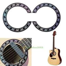 Guitar Circle Sound Hole Rosette Inlay Guitar Decal Sticker Accessory 40 41inch