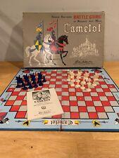 VINTAGE 1961 PARKER BROTHERS CAMELOT BATTLE BOARD GAME COMPLETE