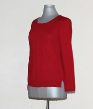 NEW(JN8-17) INC International Concepts Crewneck Sweater Red Sz M Sz $59.50