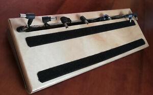 Pedalboard / Floorboard für Minipedale Gitarre Hand made incl. Stromversorgung
