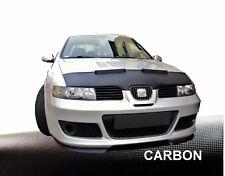 Haubenbra Seat Leon 1M ,Toledo 1M Bj.99-06 Car Bra  BlackBull Auto Tuning CARBON