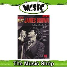 James Brown Bass Play Along V48 Book - CD or Online Audio